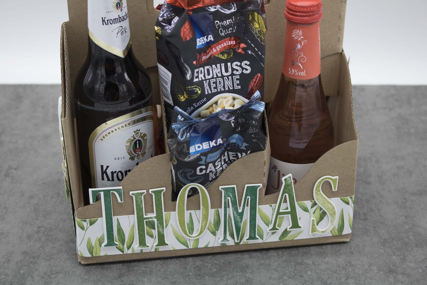 Bierträger zum 55. Geburtstag