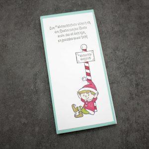Notizblock Weihnachten Wichtel