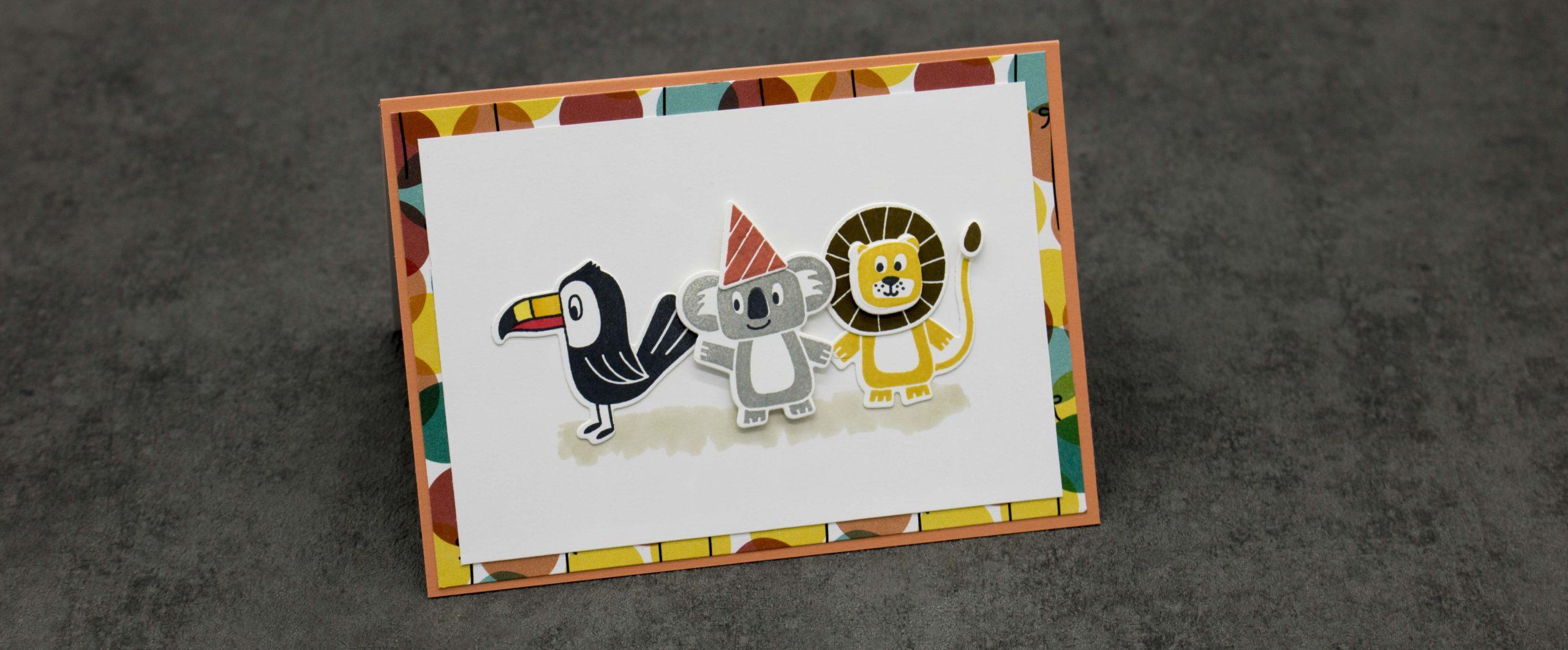 Geburtstagskarte mit Musik Chip