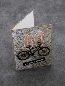 Eine Karte zum 60. Geburtstag
