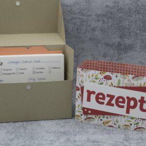 Anleitung Rezept-Box